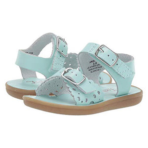 Footmates Girls Mint Ariel Sandals - Madison-Drake Children's Boutique