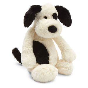 Jellycat® Bashful Black & Cream Puppy Dog Plush Toy