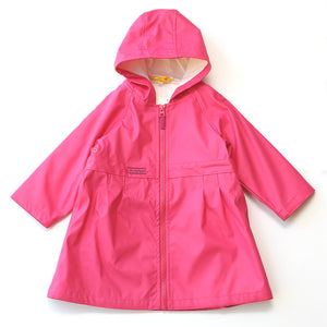 Pluie Pluie Little Girl's Hot Pink Raincoat