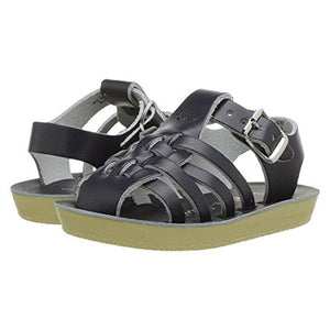 Sun San Navy Blue Sailor Salt Water Sandals Boy's Shoes