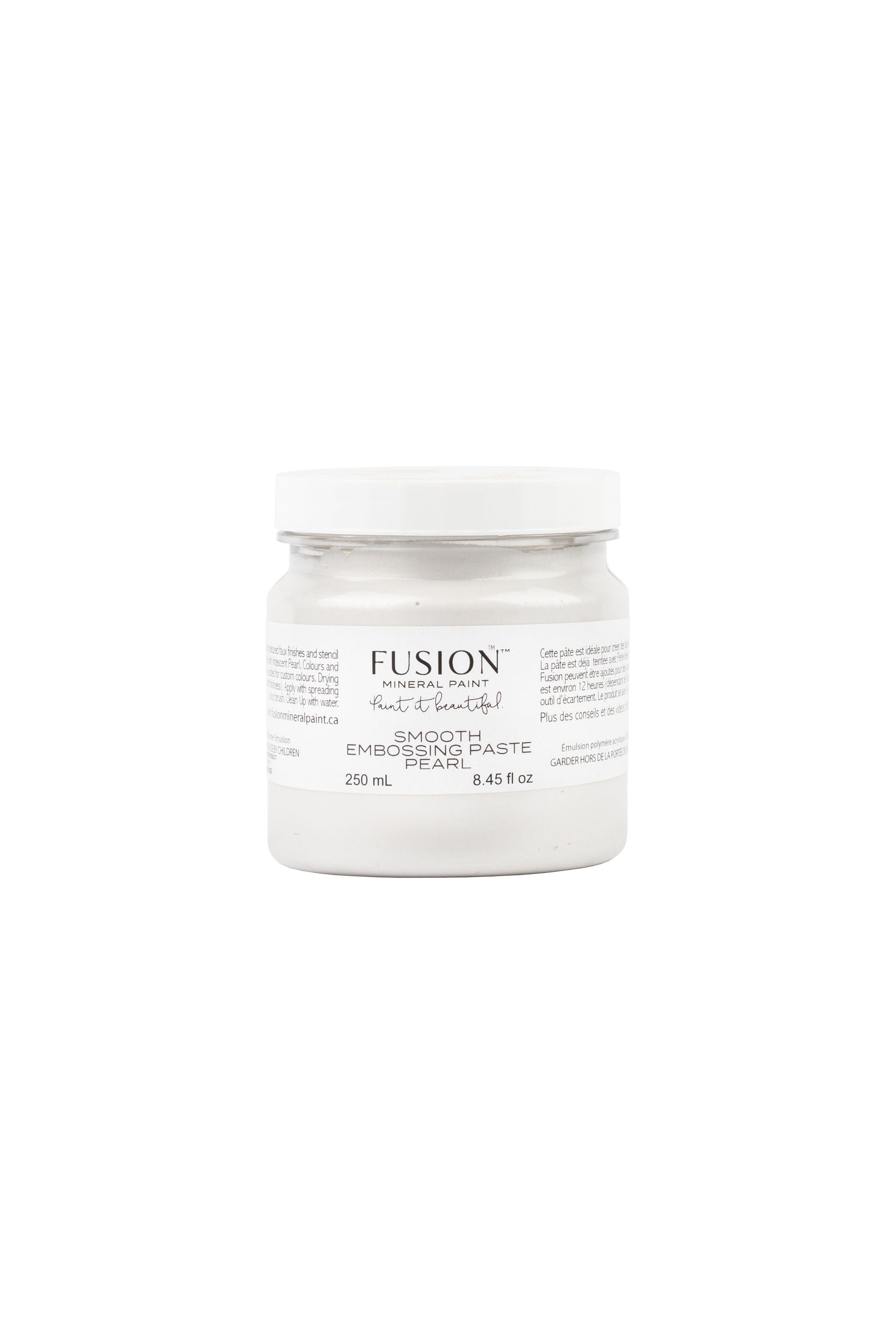 Smooth Embossing Paste - Fusion Mineral Paint - Where to Buy Online - Dear Olympia - Flate Rate US Shipping