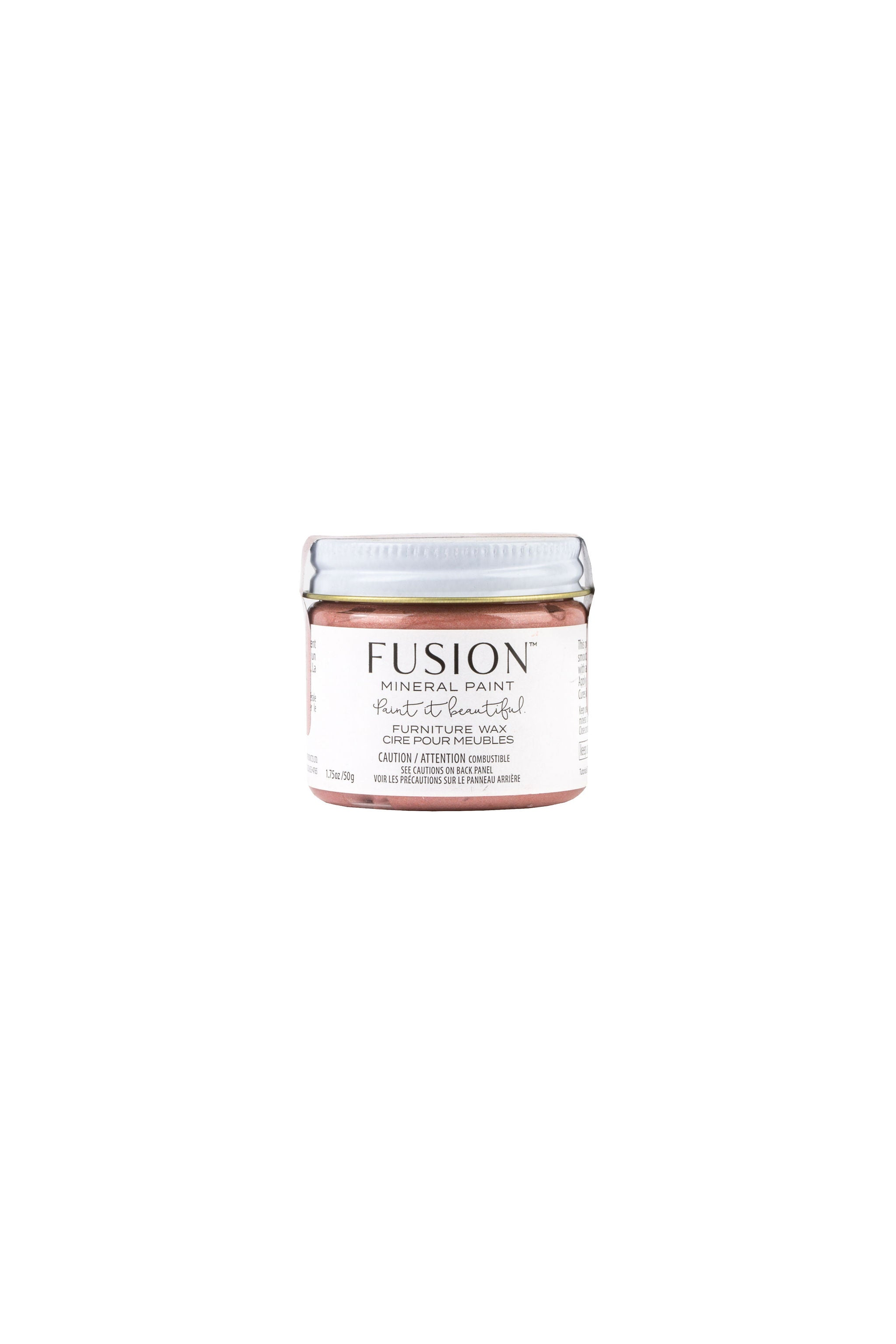 Rose Gold Metallic Wax - Fusion Mineral Paint - Where to Buy Online - Dear Olympia - Flate Rate US Shipping