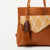 New Ekta Camel Leather Tassel