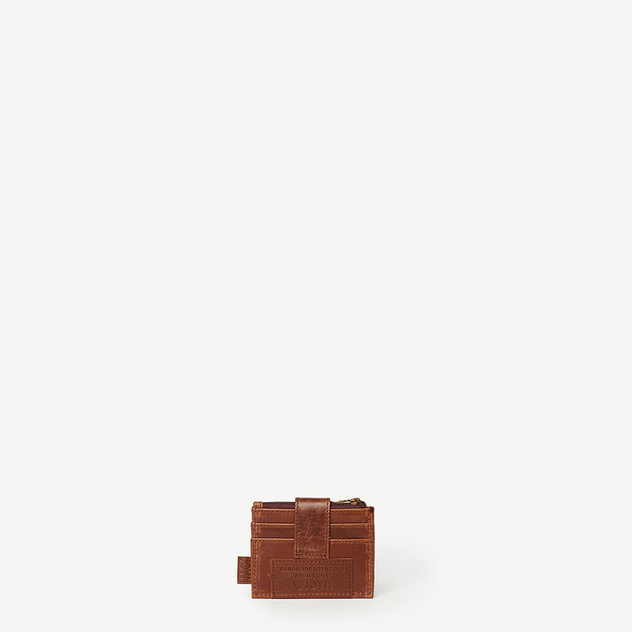 Amna Mini Wallet Brown