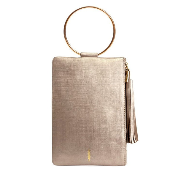 Nolita Clutch in Champagne