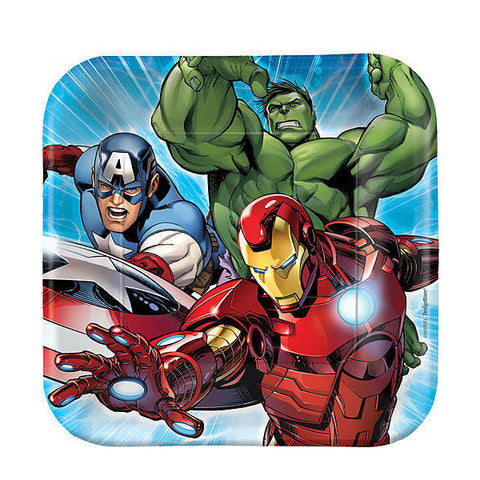 Avengers Paper Plates (Small)