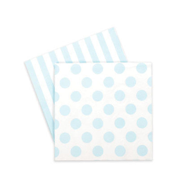 Paper Napkins - Baby blue