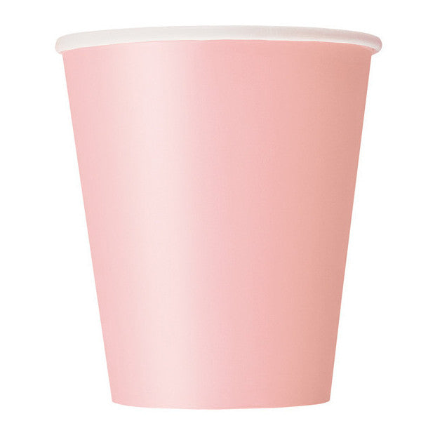 Pink Paper Cups.