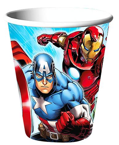 Avengers Paper Cups.