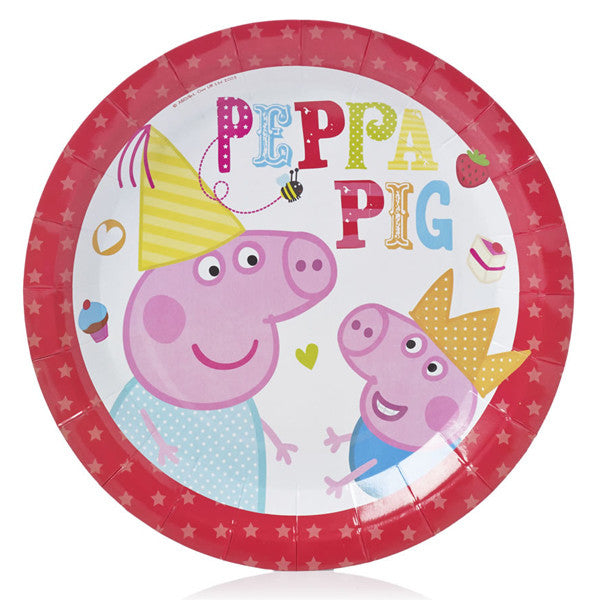 Peppa Pig Paper Plates