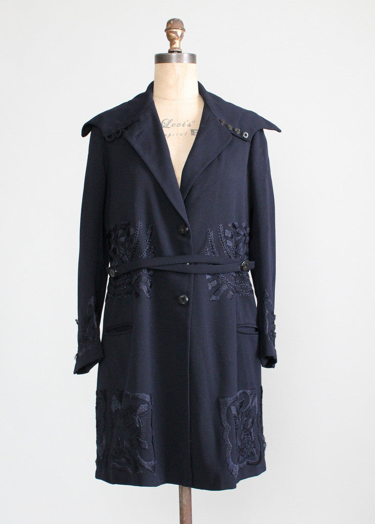 Early 1920s Embroidered Coat