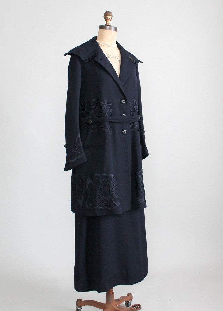 Late 1910s Wool Walking Suit