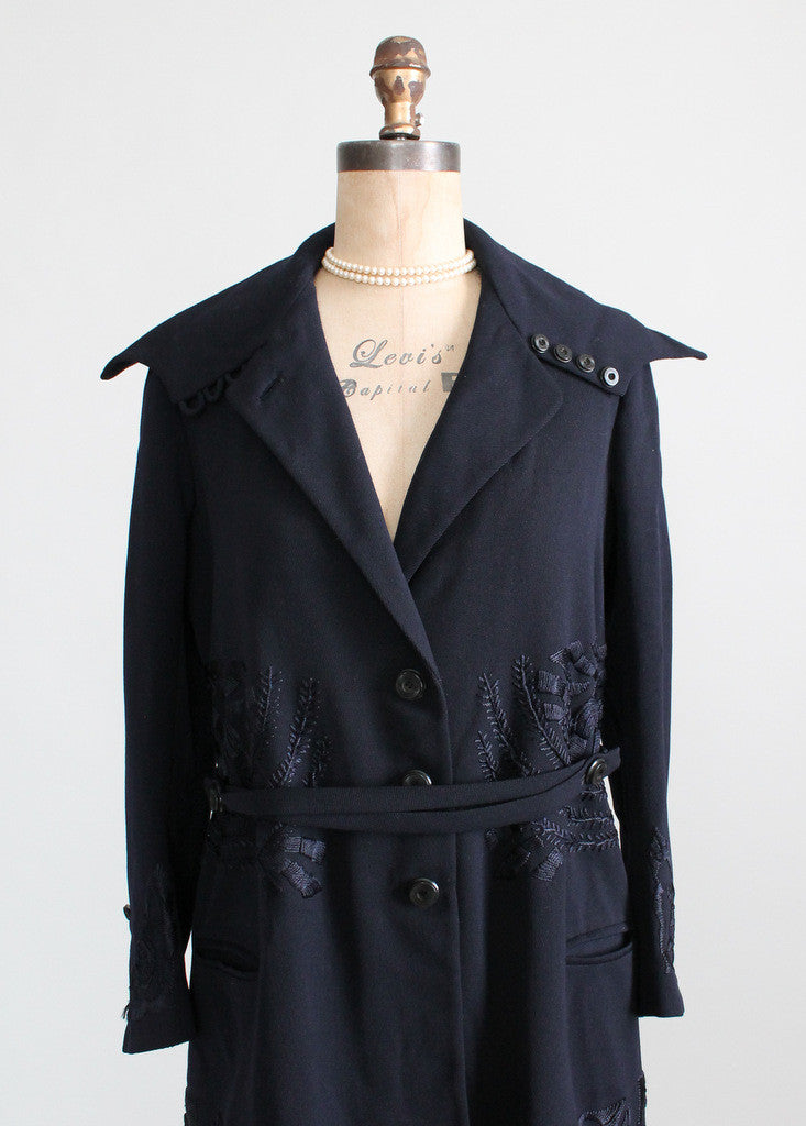 Early 1920s Wool Coat