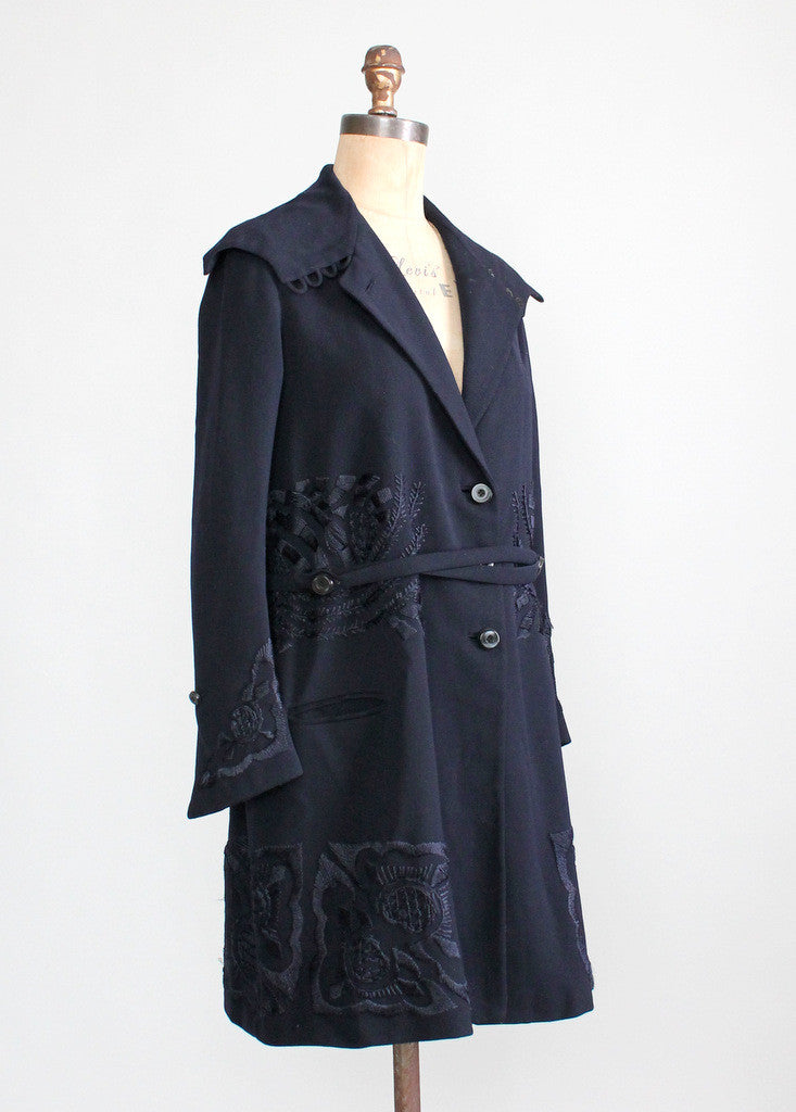 Late 1910s Wool Coat