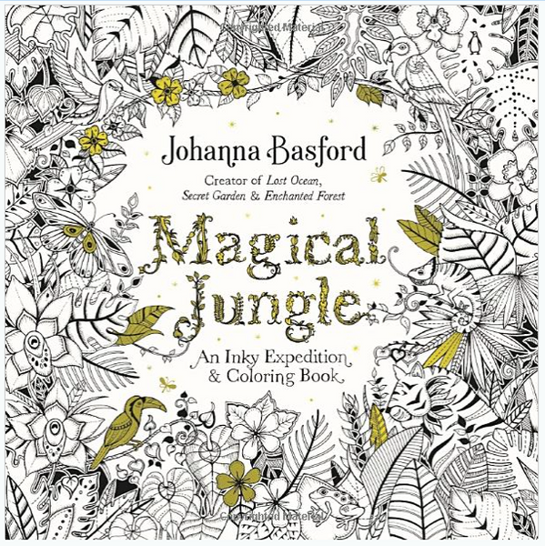 Magical Jungle - An Inky Expedition and Coloring Book