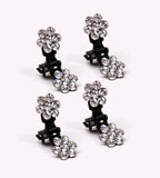 If you're a Ballerina or a Dancer, you'll be free to let your Updo Hairstyle Fly with these Mimi Rhinestone Clamps for Easy Up Hairdos