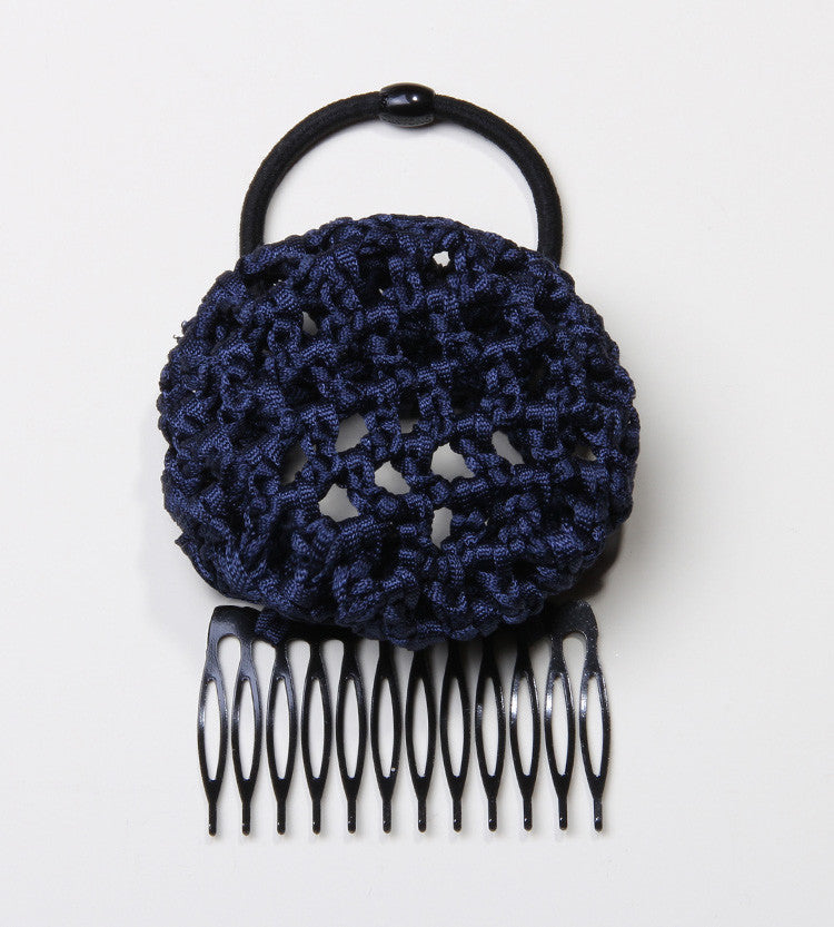 The Denim Ballerina Hair Bun for Easy Up Hairdos from PonyBun Hair Buns and Hair Accessories for Women