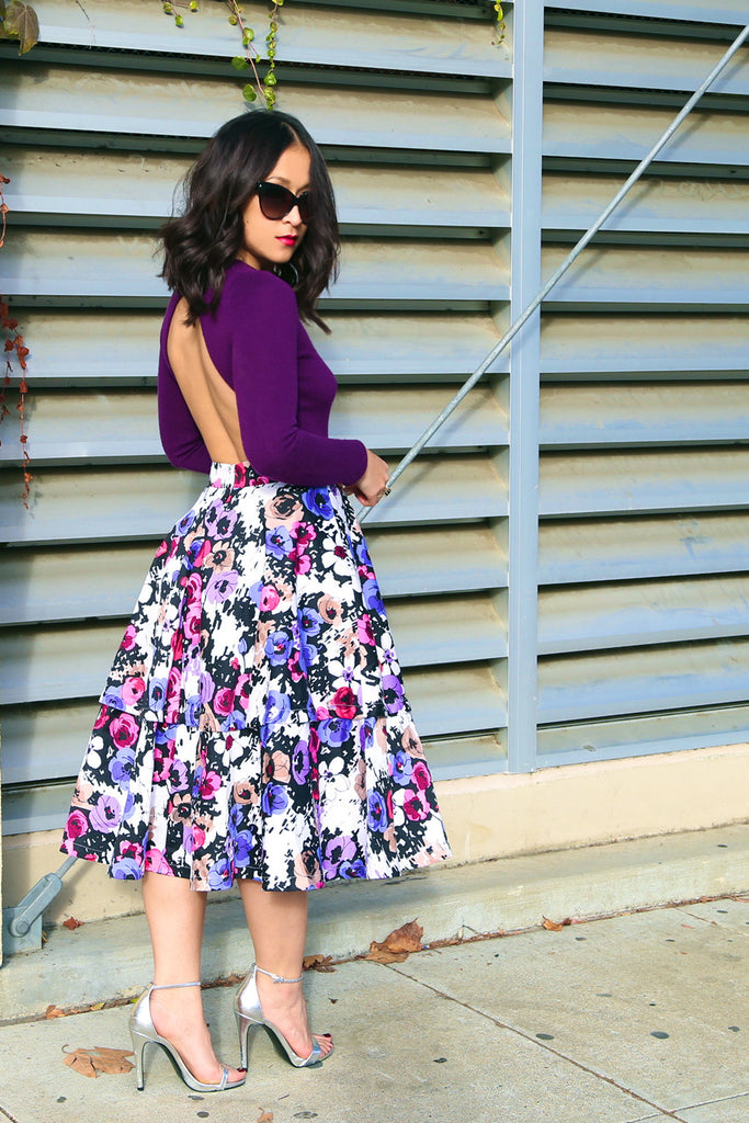 Attach Me Not Mini/Midi Skirt