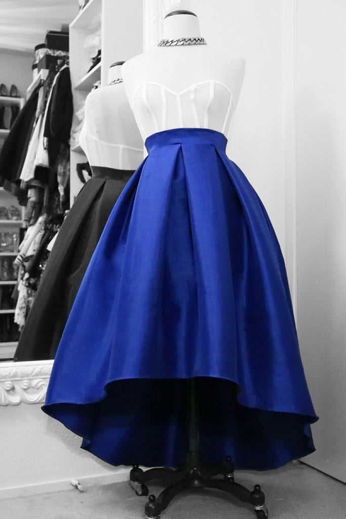 * MADE TO ORDER: The High Low Floor Length Skirt