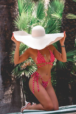 * MADE TO ORDER: Itty Bitty Stringy Brazilian Cut Bikini
