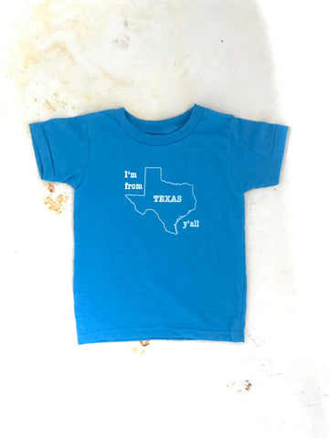 I'm from Texas Y'all  - onesie
