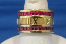 Load image into Gallery viewer, VINTAGE TIFFANY & CO. ATLAS RUBY RING