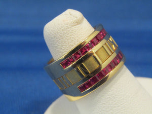 VINTAGE TIFFANY & CO. ATLAS RUBY RING