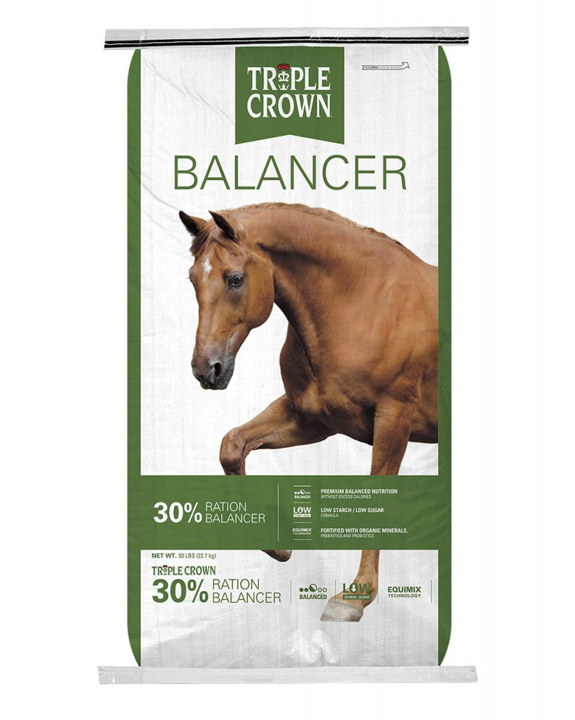 TRIPLE CROWN 30% BALANCER PELLET 50#