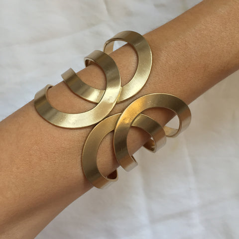 Arm Bracelet Egyptian gold - My Jewel Candy