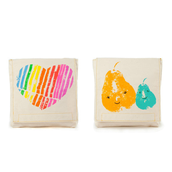 fluf Organic Cotton Snack Pack Set Mama Love