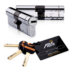 Avocet ABS Euro Cylinder Lock - Key access both sides