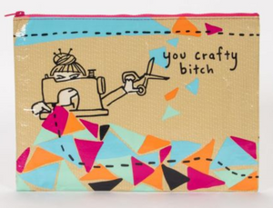 You Crafty Bitch Project Pouch