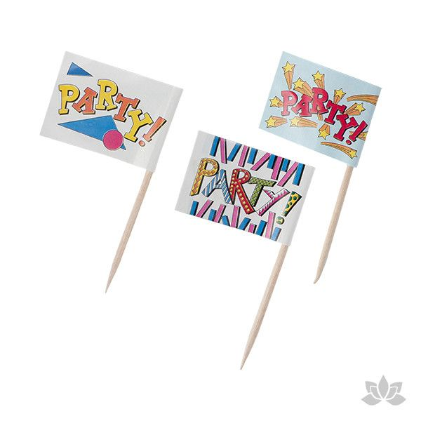 Mini Party Flags