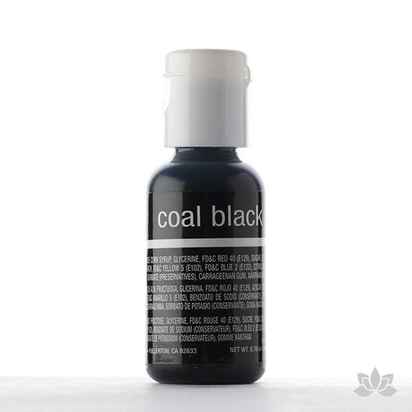 ChefMaster Liqua-Gel Color 0.70 oz - Coal Black