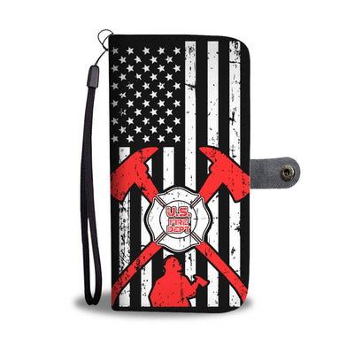 Firefighter wallet phone case