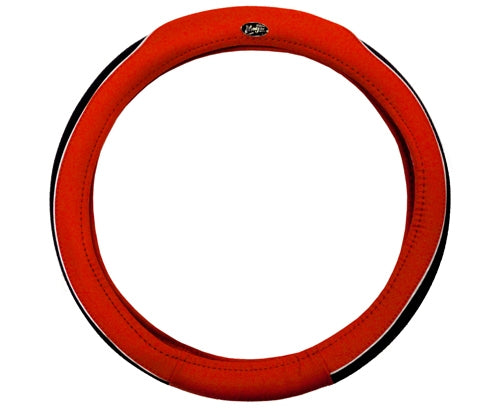 Madjax Red and Black Steering Wheel Cover