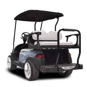 Madjax Genesis 300 with Standard White Aluminum Rear Flip Seat - Fits Club Car DS