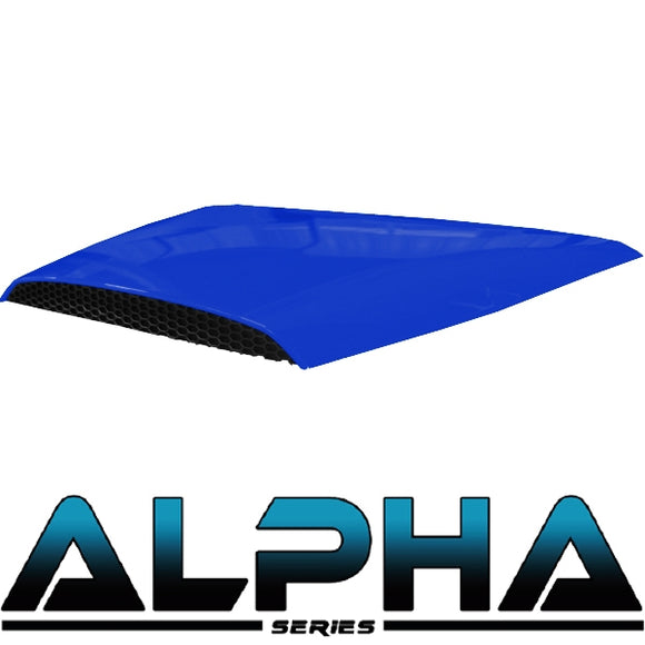 Blue Hood Scoop for ALPHA Body Kits