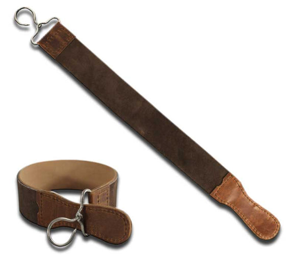 SE 7013 20''x2'' Overall Leather Razor Strop Brown