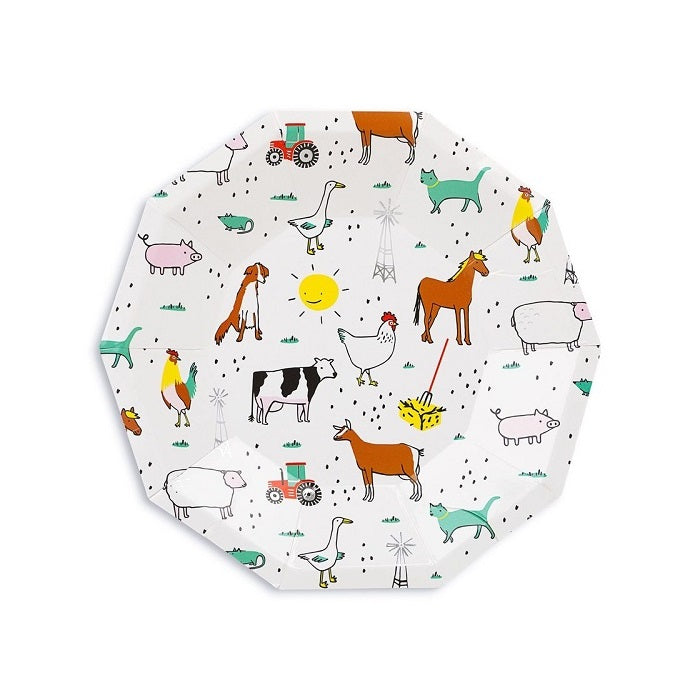 On The Farm Dessert Plates (8 pack)