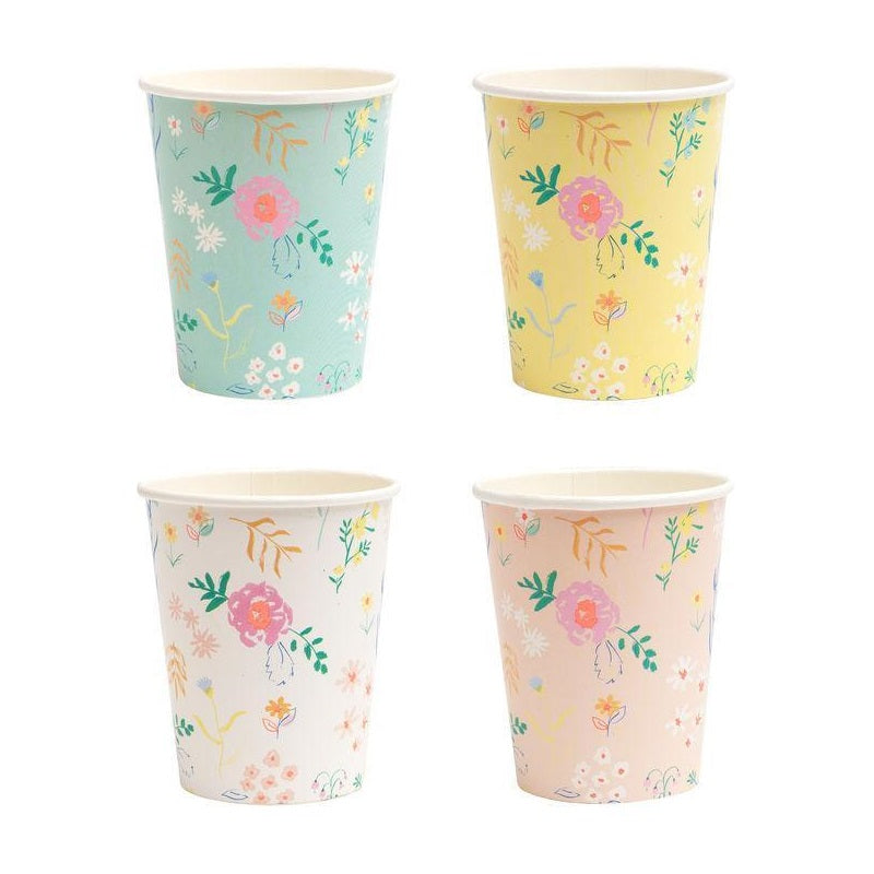 Wildflower Pastel Cups (12 pack)
