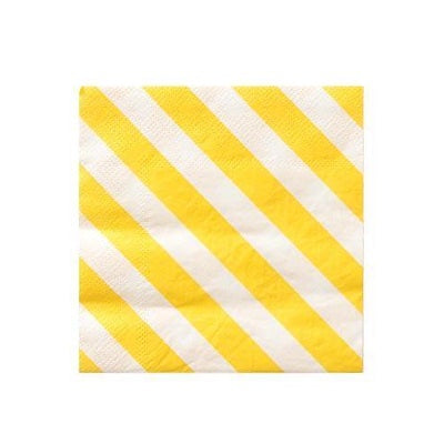 Happy Stripes Cocktail Napkins (20 pack)