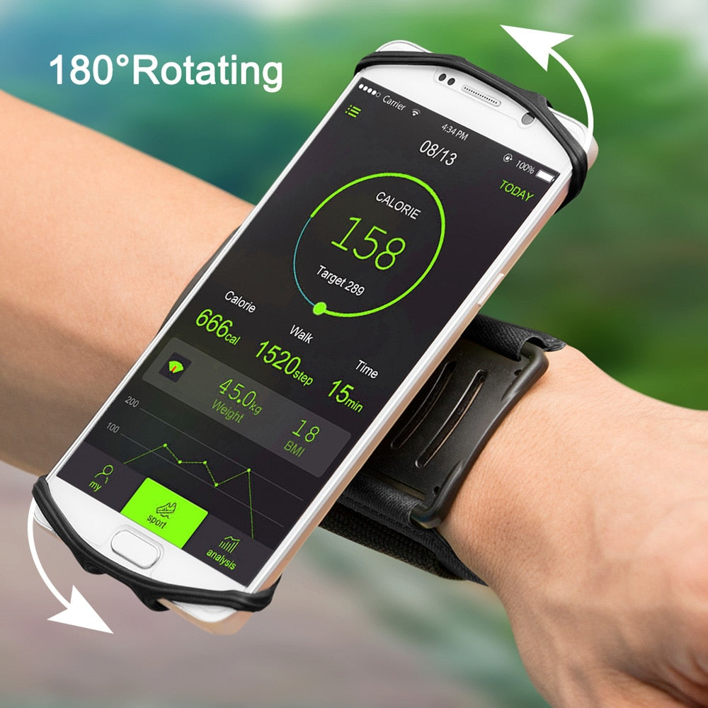 Phone Wristband for iPhone and Samsung Galaxy