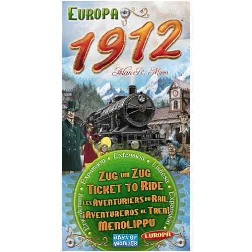 Ticket to Ride, Europa 1912 Exp
