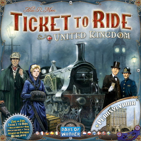 Ticket to Ride United Kingdoms