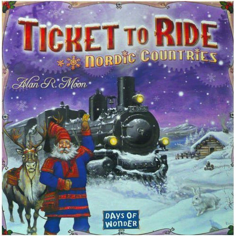 Ticket to Ride Nordic Countries