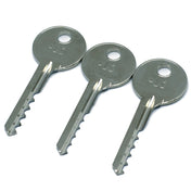 3 Piece Ultimate Bump Key Set für Lock Bumping (Reverse) - UKBumpKeys