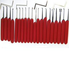 Set di grimaldelli HUK Red Tiger - UKBumpKeys