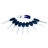 KLOM Wafer Lock Rakes - Lock Picks per serrature a doppia faccia - UKBumpKeys