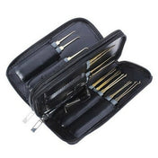 GOSO 24 Piece Lock Pick Set with Sturdy All Weather Zip Case - UKBumpKeys